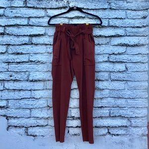 Ruched High Waisted Joggers